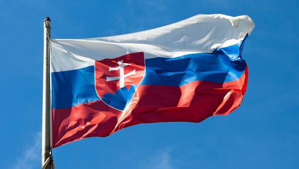 Flaga Słowacji - Sputnik Polska