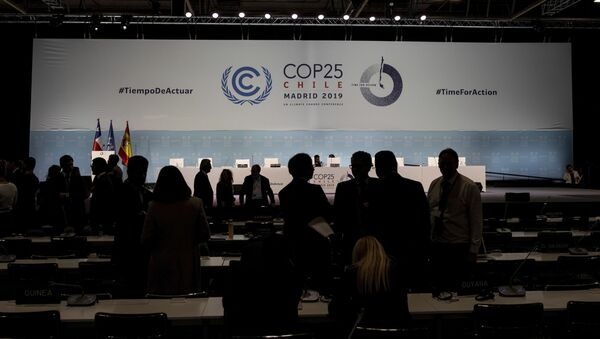 25. Konferencja Stron Ramowej Konwencji Narodów Zjednoczonych w sprawie zmian klimatu (COP-25) w Madrycie - Sputnik Polska