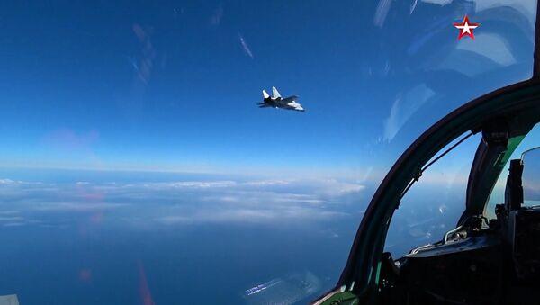 Pojedynek myśliwców MiG-31BM - Sputnik Polska