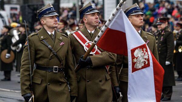 Polskie wojsko w Rydze, Dzień Niepodległości Łotwy - Sputnik Polska