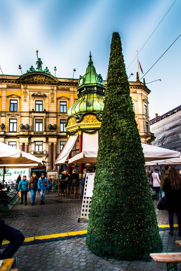 Jarmark bożonarodzeniowy w Kopenhadze - Sputnik Polska