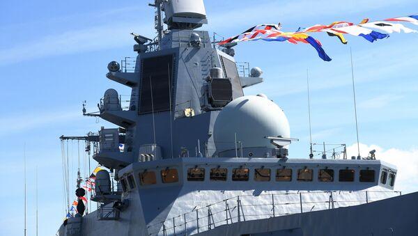 "Fregata ""Admirał Kasatonow""  - Sputnik Polska"