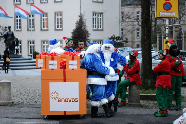Święta w Luksemburgu - Sputnik Polska