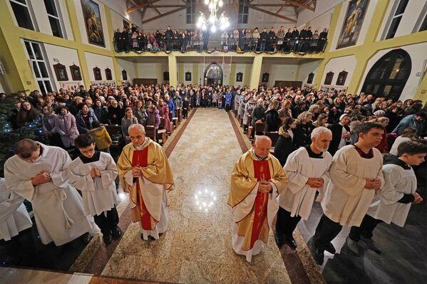 Msza święta w kościele rzymskokatolickim, Kaliningrad   - Sputnik Polska