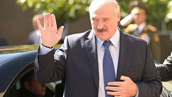 Prezydent Białorusi Aleksandr Łukaszenka - Sputnik Polska