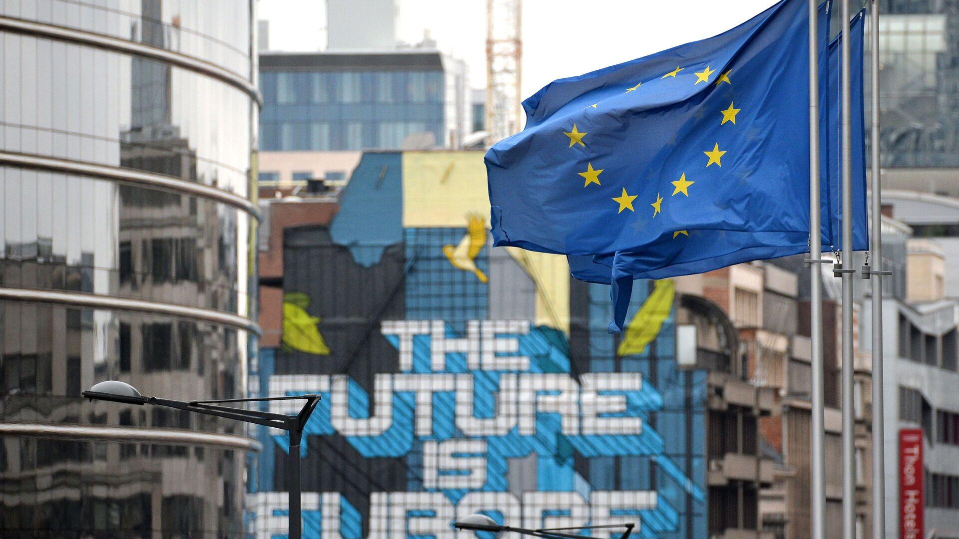 Siedziba UE w Brukseli - Sputnik Polska, 1920, 12.02.2021