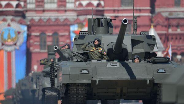 "T-14 ""Armata"" - Sputnik Polska"