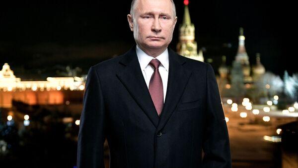 Noworoczne orędzie Władimira Putina - Sputnik Polska