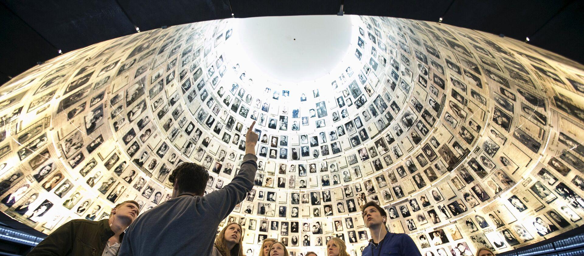 Muzeum w instytucie Yad Vashem (Instytut Pamięci Męczenników i Bohaterów Holocaustu w Jerozolimie) - Sputnik Polska, 1920, 28.02.2021