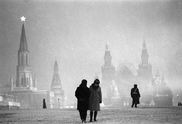Plac Czerwony wieczorem - Sputnik Polska