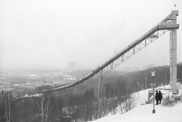 Skocznia narciarska w Moskwie - Sputnik Polska