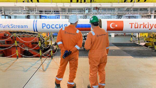 Budowa gazociągu Turecki Potok - Sputnik Polska