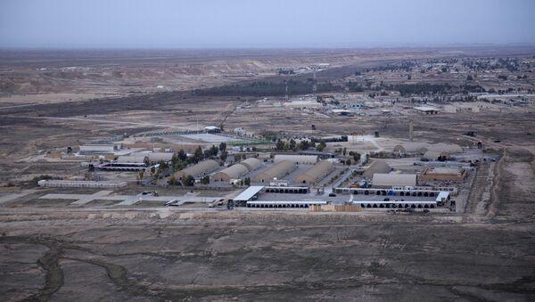Baza lotnicza Ayn al Asad w zachodnim Iraku - Sputnik Polska