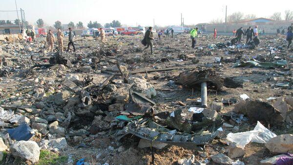 Katastrofa ukraińskiego Boeinga w Teheranie - Sputnik Polska