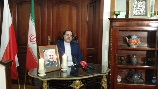 Ambasador Islamskiej Republiki Iranu w Polsce Masoud Kermanshahi - Sputnik Polska