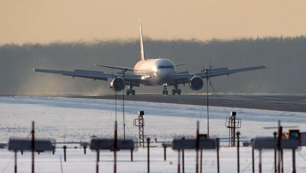 Samolot linii lotniczych Nordwind. Zdjęcie archiwalne - Sputnik Polska