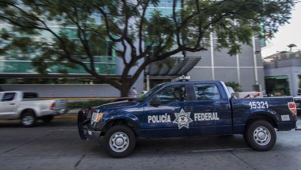 Meksykańska policja - Sputnik Polska
