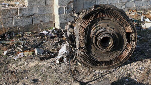 Katastrofa ukraińskiego samolotu Boeing 737-800 - Sputnik Polska