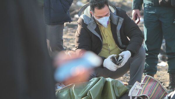 Katastrofa Boeinga w Iranie - Sputnik Polska