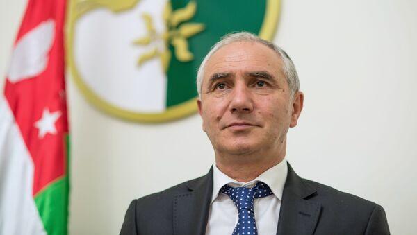 Premier Abchazji Walerij Bganba - Sputnik Polska