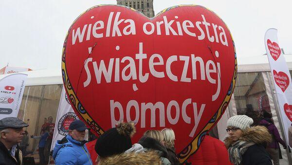 Finał Wielkiej Orkiestry Świątecznej Pomocy - Sputnik Polska