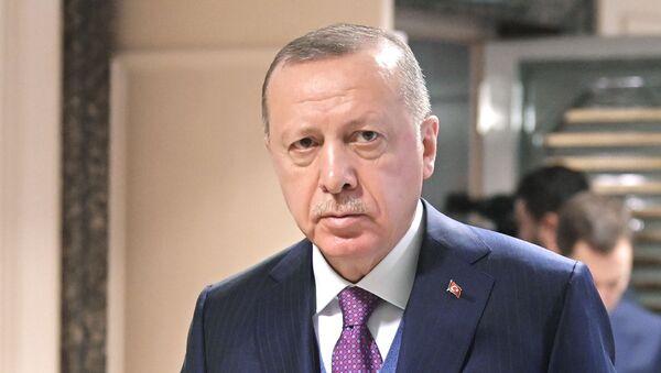 Prezydent Turcji Recep Tayyip Erdoğan - Sputnik Polska