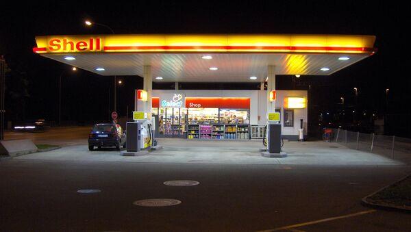 Stacja paliw Shell - Sputnik Polska