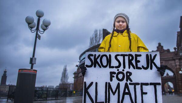 Greta Thunberg - Sputnik Polska
