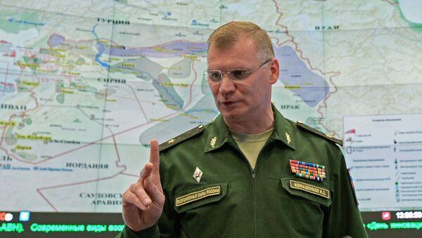Rzecznik Ministerstwa Obrony FR generał-major Igor Konaszenkow - Sputnik Polska