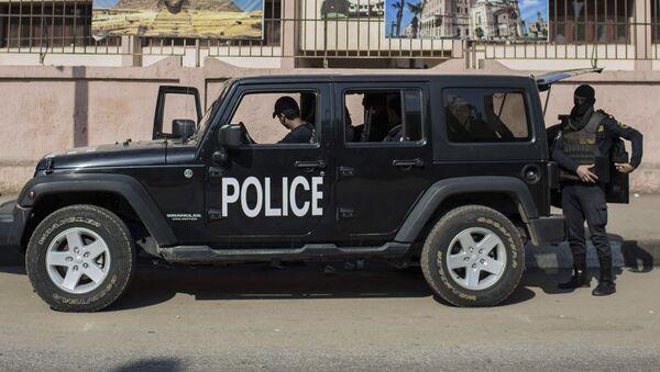 Funkcjonariusze policji w Egipcie - Sputnik Polska