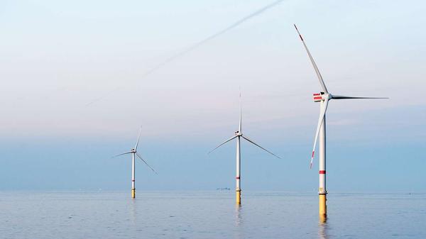 Największa na świecie elektrownia wiatrowa duńskiej firmy Ørsted. - Sputnik Polska
