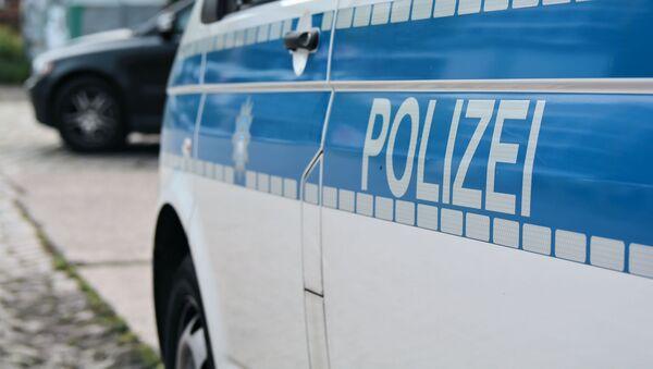 Samochód niemieckiej policji - Sputnik Polska
