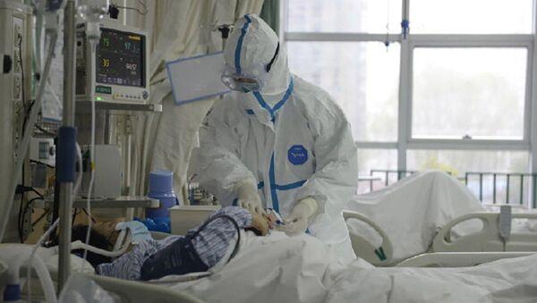 Szpital w Wuhan - Sputnik Polska