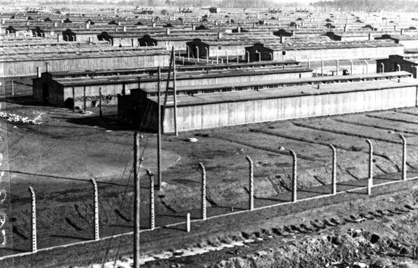 Auschwitz-Birkenau w styczniu 1945 roku - Sputnik Polska