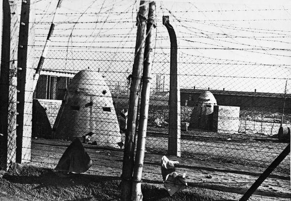 Obóz Auschwitz w 1945 roku - Sputnik Polska