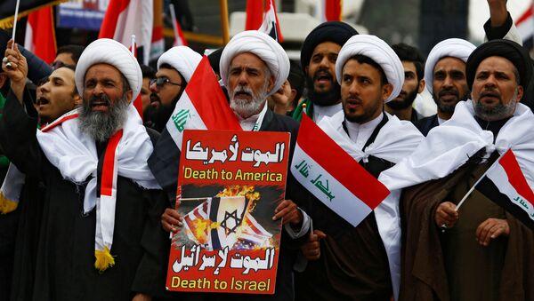 Protesty w Iraku - Sputnik Polska