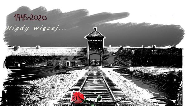 Nigdy więcej: 75. rocznica wyzwolenia obozu Auschwitz-Birkenau - Sputnik Polska
