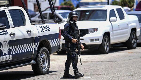 Policja w Meksyku - Sputnik Polska