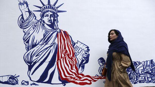 Graffiti w Iranie - Sputnik Polska