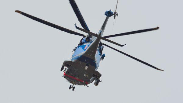 Japoński helikopter policyjny - Sputnik Polska