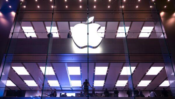 Apple w Hongkongu - Sputnik Polska