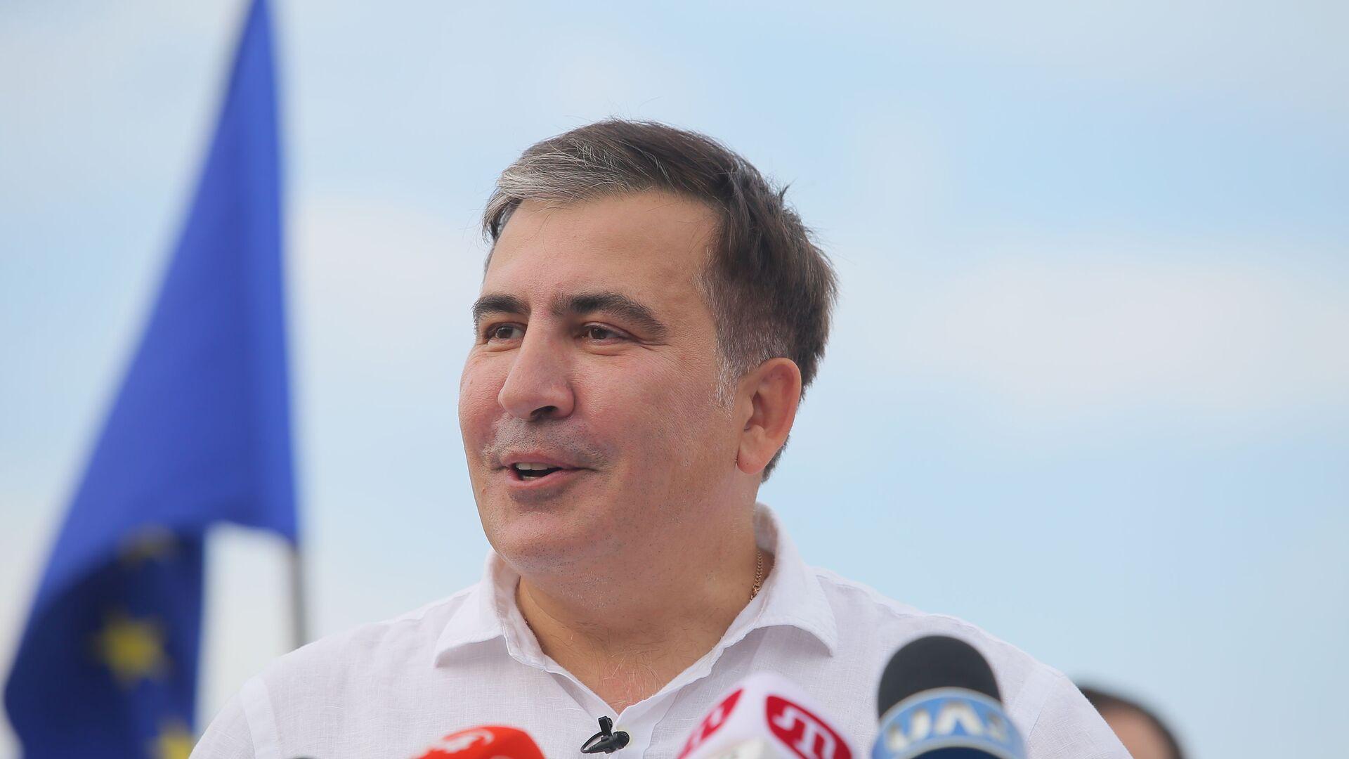 Michaił Saakaszwili - Sputnik Polska, 1920, 01.10.2021