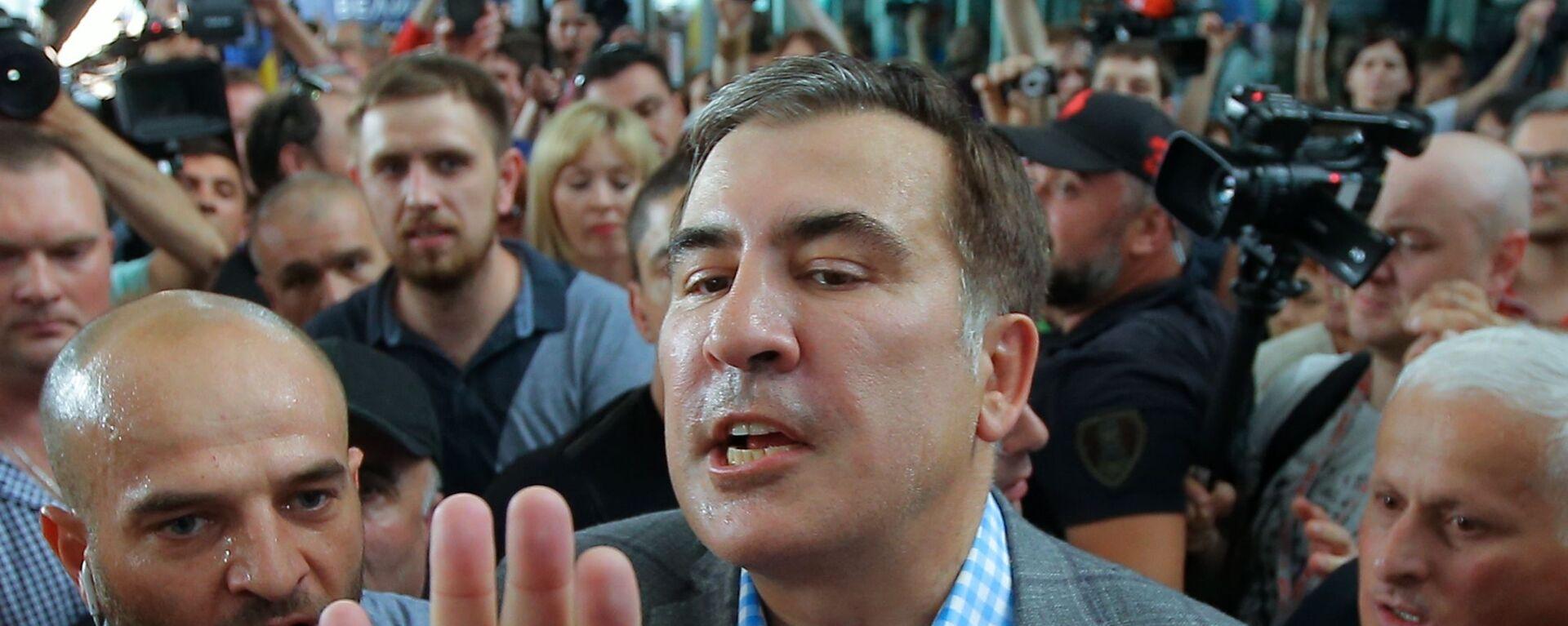 Michaił Saakaszwili - Sputnik Polska, 1920, 02.10.2021