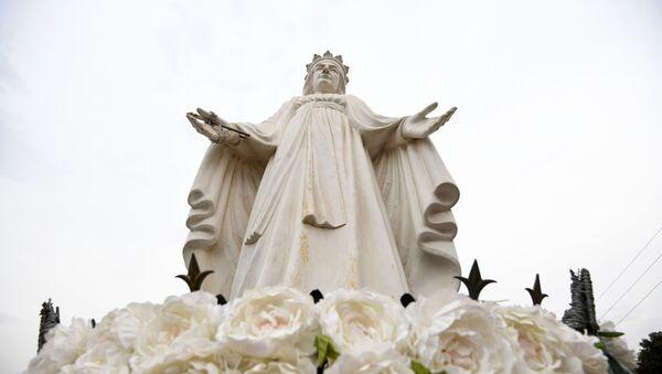 Figura Matki Bożej w Libanie - Sputnik Polska