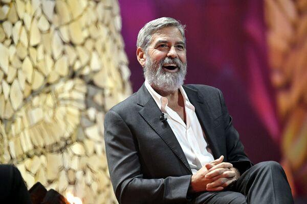 Aktor George Clooney - Sputnik Polska