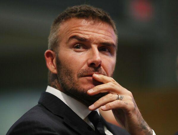 Piłkarz David Beckham  - Sputnik Polska