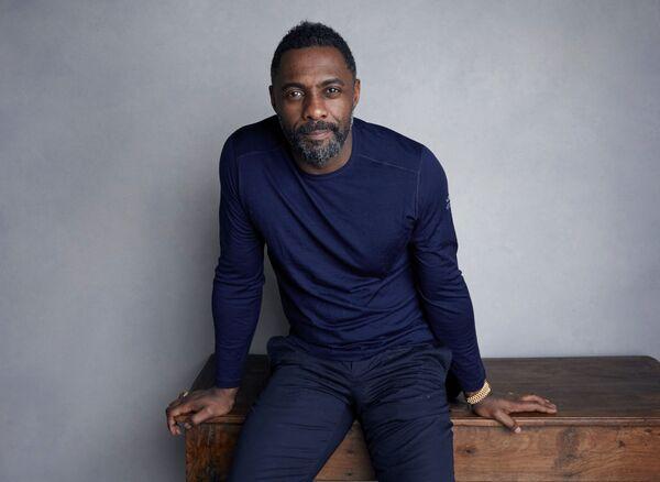 Aktor Idris Elba - Sputnik Polska