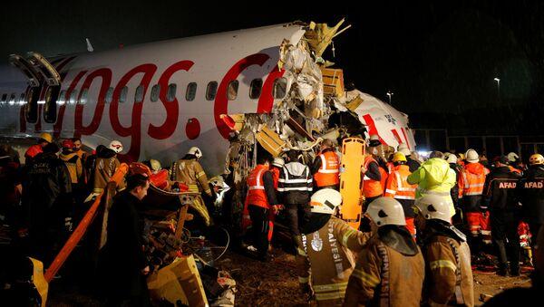 Katastrofa lotnicza w Stambule - Sputnik Polska