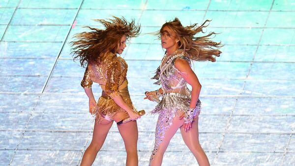 Duet Jennifer Lopez i Shakira - Sputnik Polska