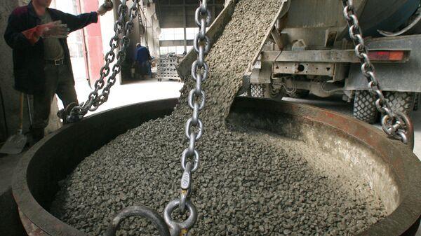 Zakład produkcji betonu w Kaliningradzie - Sputnik Polska